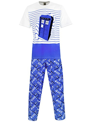 Dr Who Mens' Doctor Who Pajamas X Large