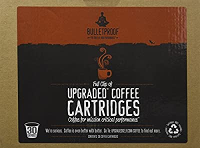 Bulletproof Upgraded Coffee Cartridges, 30 Count from Unknown