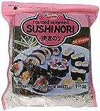 Shirakiku Sushi Nori Seaweed Sheets - 50 Sheets