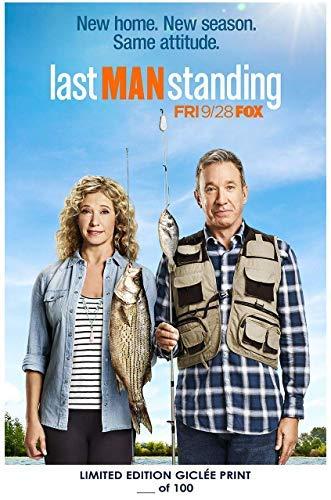 Lost Posters Rare Poster Tim Allen Last Man Standing Nancy Travis 2018 Fox Reprint #'d/100!! 12x18