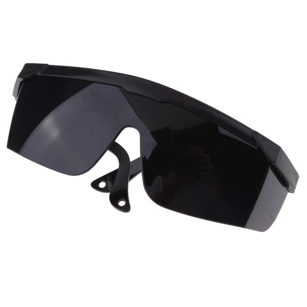 Fityle Labor Protection Welding Welder Sunglasses Glasses Goggles Working Protector - Black
