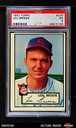 Amazoncom 1952 Topps 270 Lou Brissie Cleveland Indians