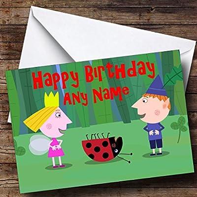 De personalizado de tu propio Ben y cumpleaños con texto en ...