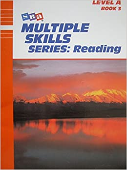 Book Multiple Skills series: Reading Level A Book 3 (SRA)