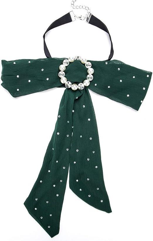 BW Jewelry Cinta de la Gasa Broche de Corbata Broche Arco de ...