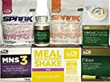 Advocare 24 Day Challenge, Iced Lemon Meal Replacement + Bonus..MNS3, Fruit & Mandrain Orange Spark