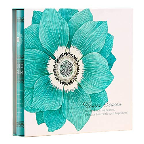 - 800 Sheets Large Capacity Photo Album, 5X3.5 Inches + 7X5 Inches Mixed Interstitial Couple Family Commemorative Book 32X30X5cm/12.5X11.8X2 Inch