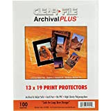 Archival-Plus Print Protector, 13 x 19'' - 100 Pack, 014100B, ARCHIVAL STORAGE-for Prints