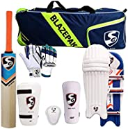 SG Cricket Kit Full Set for Adults with Ezeepak Bag with Fast Delivery RSD Spark Kashmir Willow Bats+Batting L