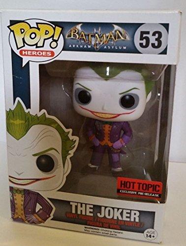 Pop! Heroes Batman Arkham Asylum The Joker 53 Vinyl Figure By Funko Exclusive
