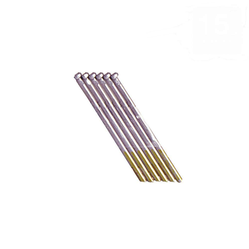 """Grip Rite 2-1//2/"""" Angled 15 GA Collated Finish Nails Electrogalvanized 1000 ct"""