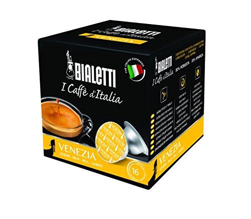 Bialetti 6820 Mini Exppress Expresso Capsules, Venezia, 16-pack