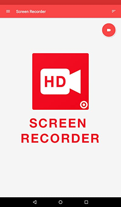 Amazon com: HD Screen Recorder app for kindle fire - free Screen Rec