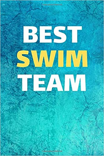 Best Swim Team: Swim Diving Notebook & Swimming Sport ...