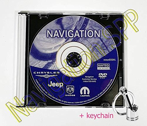 Chrysler Dodge Jeep REC RB1 GPS Navigation Map Update DVD Disc - ver 05064033AL (Dvd Navigation Map North America)