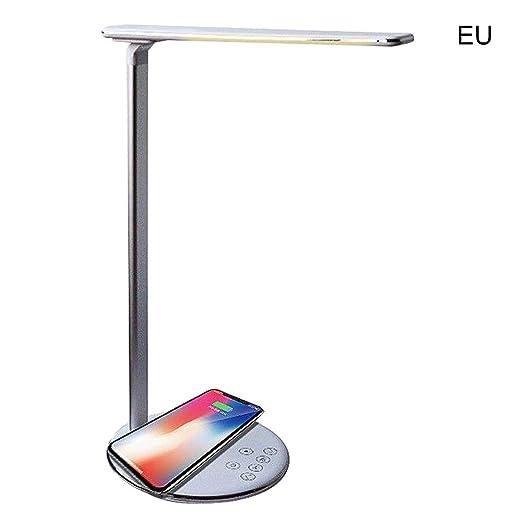 USB Charge 4 In1 Cargador inalámbrico Led Lámpara de ...