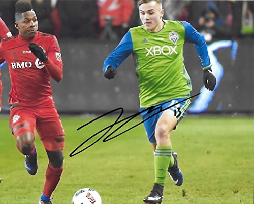 Jordan Morris, Seattle Sounders FC, Signed, Autographed, 8X10 Photo, a Coa with the Proof Photo of Jordan Signing Will Be Included/,,