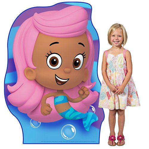 4 ft. 9 in. Bubble Guppies Molly Standee Standup Photo Booth Prop Background Backdrop Party Decoration Decor Scene Setter Cardboard Cutout -