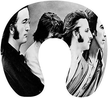ビートルズ The Beatles (96)ネックピロー U型まくら 携帯枕 携帯収納便利 ネック枕 オフィス 飛行機 新幹線 出張