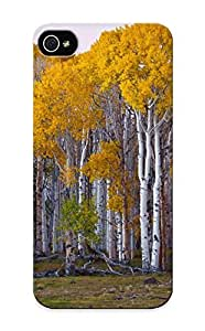 Craigeggleston Iphone 5/5s Hybrid Tpu Case Cover Silicon Bumper Autumn Deciduous Forest