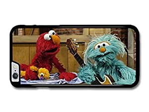 "AMAF ? Accessories Elmo and Rosita Muppet Playing Together Still TV Show case for iPhone 6 Plus (5.5"")"