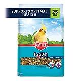 Kaytee Forti Diet Pro Health Bird Food for Cockatiels, 25-Pound
