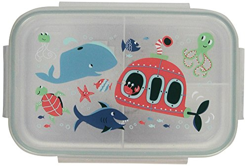 Sugarbooger Good Lunch Box, Ocean (Sugarbooger Snack Containers)