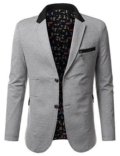 Grey Sport Coat Blazer - 9