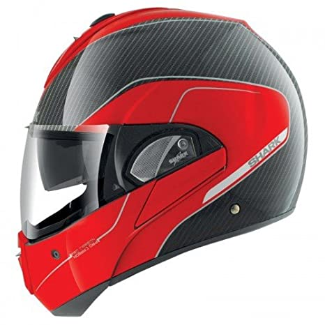 Shark Evoline Pro - Casco para Moto, Fibra de Vidrio y Carbono, Talla XS: Amazon.es: Coche y moto