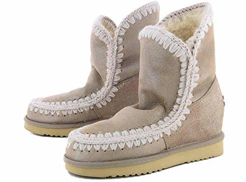 Mou, Kvinders Støvler & Ankelstøvler Beige Beige