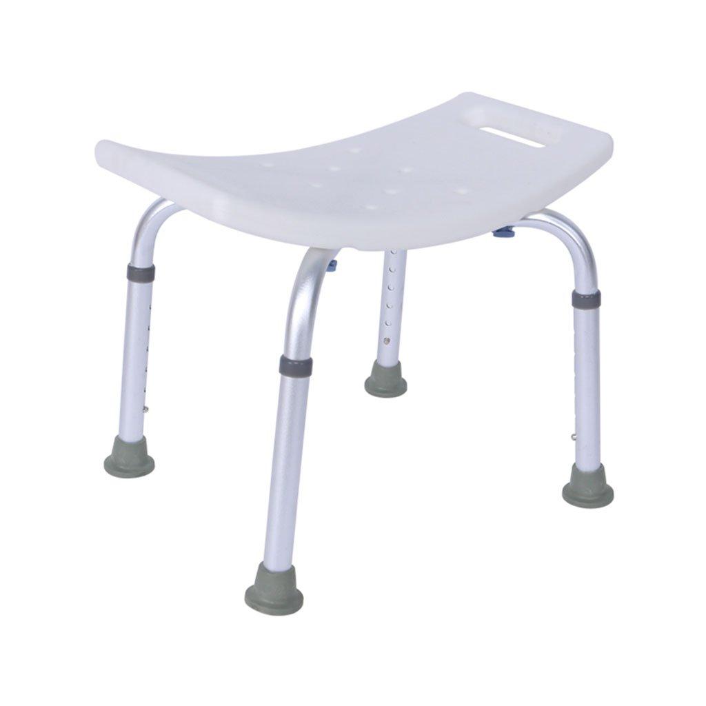シャワーチェア、高さ調節可能ノンスリップバスルーム老人妊婦シャワーチェア B078R8Z59M