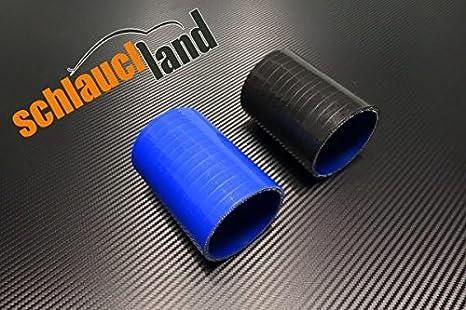 Silikonverbinder Innendurchmesser 48mm schwarz*** Silikonschlauch Verbinder K/ühlwasserschlauch