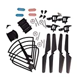 YouCute Spare Part Kit MJX DROCON X708W X708P Rc Quadcopter Drone Blade Gear Lading Gear Frame Gear