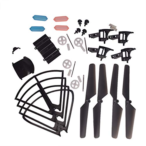 YouCute Spare Part Kit MJX DROCON X708W X708P Rc Quadcopter Drone Blade Gear Lading Gear Frame - 680 Replacement Mah