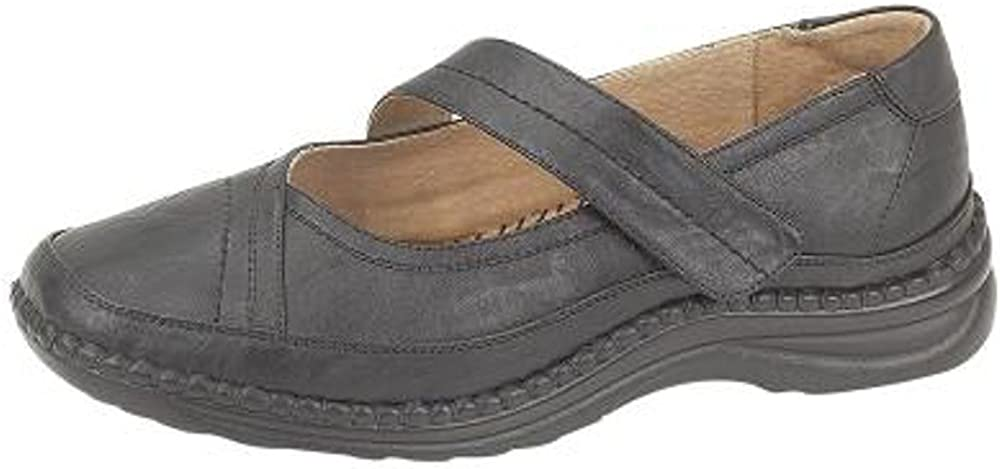 Womens Extra Wide EEE Fit Velcro
