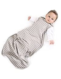 Baby Sleep Sack from Woolino, 4 Season, Merino Wool Baby Sleep Bag, 2 Months - 2 Years, Earth