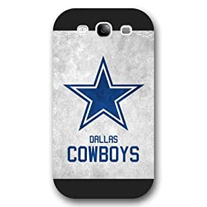 Customized NFL Series For Case Samsung Note 4 Cover, NFL Team Dallas Cowboys Logo For Case Samsung Note 4 Cover, Only Fit For Case Samsung Note 4 Cover (Black Frosted Shell)