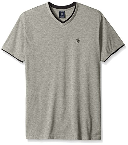 U.S. Polo Assn. Men's Short Sleeve Solid Classic Fit V-Neck T-Shirt