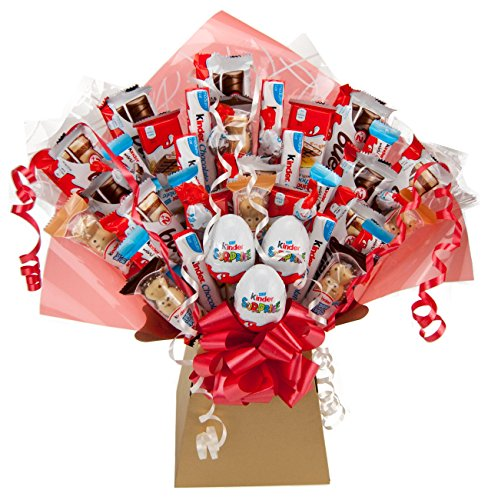 Kinder XL Chocolate Bouquet 41 Piece Tree Explosion Gift Hamper Selection Box - Perfect Gift