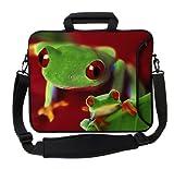 "Designer Sleeves 13"" Frog Executive Laptop Bag"