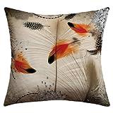 Deny Designs Iveta Abolina Feather Dance Outdoor Throw Pillow, 18 x 18
