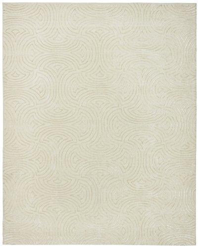 Rivet Modern Wave Cosmopolitan Rug, 8' x 10', Beige