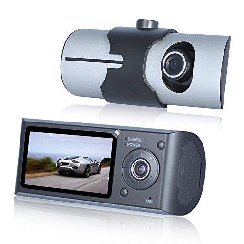 Lecmal HD R300 Vehicle Camera Video Recorder with GPS Logger G-sensor 2.7
