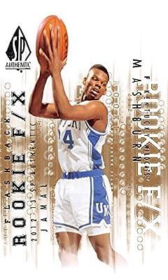 Jamal Mashburn basketball card (Kentucky Wildcats) 2013 Upper Deck Flashback Rookie #84