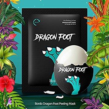Bordo Dragon Foot Peeling Mask Booties (K-Beauty)