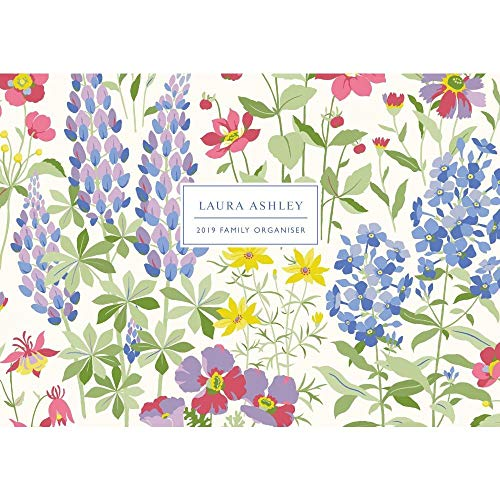 Flowers Portico - 2019 Laura Ashley Family Organizer, Flower Art by Portico Designs
