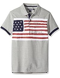 Men's Slim Fit Solid Short Sleeve Pique Polo Shirt