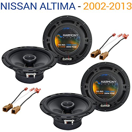 Fits Nissan Altima 2002-2013 Factory Speaker Replacement Harmony (2) R65 Package New - Nissan Altima Speakers