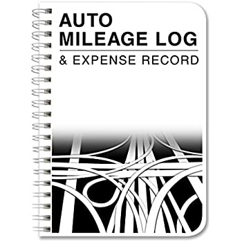 AmazonCom   Pack Auto Mileage Log Undated   X