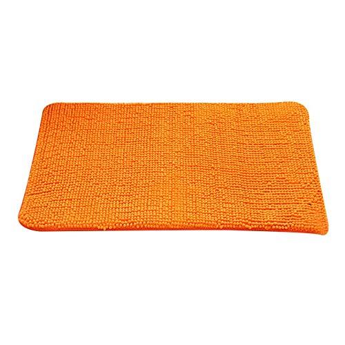 (dongzhifeng Rug Rugs Welcome Mat 2 Matt Indoor Matt Outdoor Floor Mat Mat Non-Slip Removable Washable Carpet Mat Outdoor Bathroom Carpet Mat 4060cm Orange)